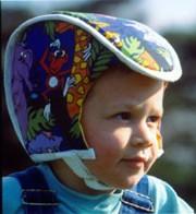 Plum's®ProtectaCap® Protective Headgear Size 3 Kids Print