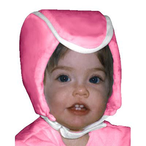 Plum's® ProtectaCap+Plus® Protective Headgear X-Small Baby Pink