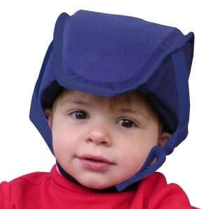 Plum's® ProtectaCap+Plus® Protective Headgear Small Deep Sea Blue