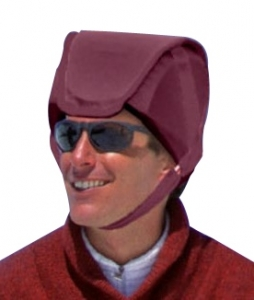 Plum's® ProtectaCap+Plus® Protective Headgear Large Plum